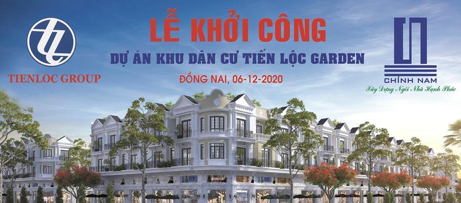 Khởi công các căn nhà phố thương mại còn lại khu dân cư Tiến Lộc Garden